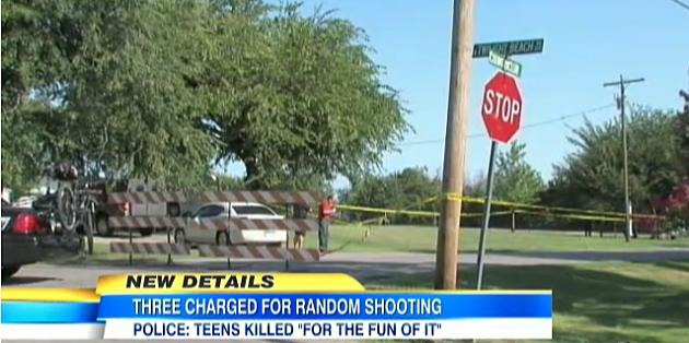 Crime Scene in Duncan, Oklahoma